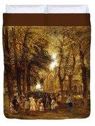 A Country Wedding Duvet Cover by Charles Thomas Burt