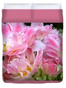 A Crowd Of Tulips Duvet Cover