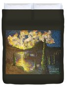 A Cypress Congregation Duvet Cover