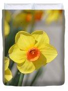 A Daffodil Hello Duvet Cover