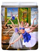 A Dance For All Seasons Duvet Cover by Reggie Duffie
