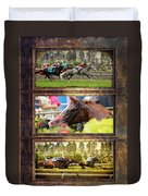 A Day At The Races Duvet Cover