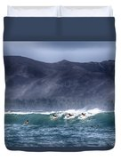 A Day In The Surf V3 Duvet Cover