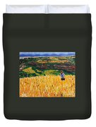 A Day In Tuscany Duvet Cover