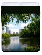 A Day On Ladybird Lake Duvet Cover