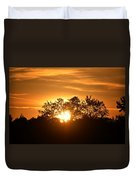 A Day's End Duvet Cover