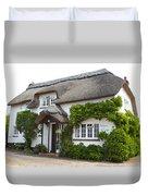 A Devonshire Cottage Duvet Cover