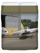A Dhc-1 Chipmunk Trainer Aircraft Duvet Cover