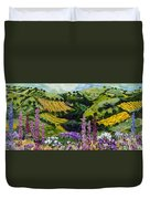 A Different Garden Duvet Cover