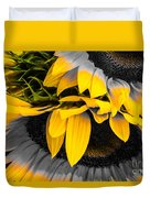 A Different Kind Of Sunflower Duvet Cover