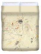 A Dream In Absinthe, 1890 Duvet Cover