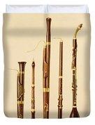 A Dulcian, An Oboe, A Bassoon Duvet Cover
