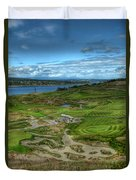 A Fairway To Heaven - Chambers Bay Golf Course Duvet Cover