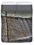 A Fall Waterfall Duvet Cover