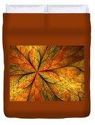 A Feeling Of Autumn Duvet Cover