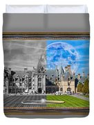 A Feeling Of Past And Present Duvet Cover