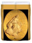 A Female Allegorical Figure Duvet Cover
