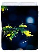 A Few Leaves In The Sun Duvet Cover