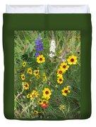 A Field Bouquet Duvet Cover