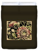 A Floral View Duvet Cover