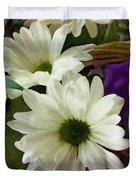 A Flower Basket Duvet Cover