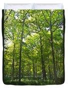 A Forest Walk Duvet Cover