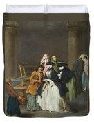 A Fortune Teller At Venice Duvet Cover