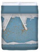 A Frame In The Mountains Duvet Cover