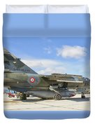 A French Air Force Mirage F1 Duvet Cover