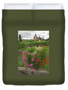 A French Country Church Duvet Cover