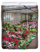 A French Flower Market Duvet Cover