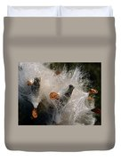 A Froth Of Milkweed Duvet Cover