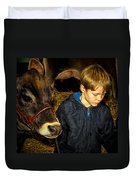 A Future Farmer In The Making Duvet Cover