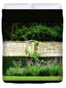 A Garden Far Away Duvet Cover
