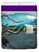 Aura On The Lake Duvet Cover