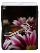 A Gift Amongst The Flowers Duvet Cover