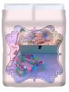 A Gift With Love Duvet Cover