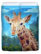 A Giraffe For Ori Duvet Cover
