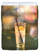 A Glass Of Water Duvet Cover