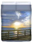 A Glorious Moment Duvet Cover