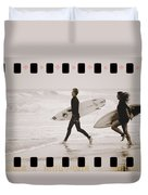 A Good Day To Surf Duvet Cover