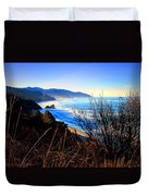 A Gorgeous Morning On The Pacific Duvet Cover