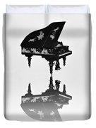 A Grand Piano Duvet Cover