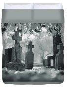 A Graveyard Duvet Cover