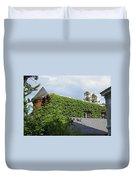 A Green House Duvet Cover
