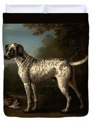 A Grey Spotted Hound Duvet Cover