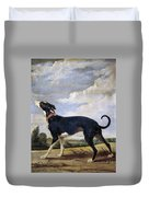 A Greyhound Lurking Duvet Cover