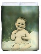 A Happy Baby Duvet Cover