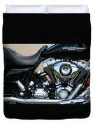 A Harley In Arlington Duvet Cover