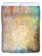 A Heart So Big - Custom Version 2 - Abstract Art Duvet Cover
